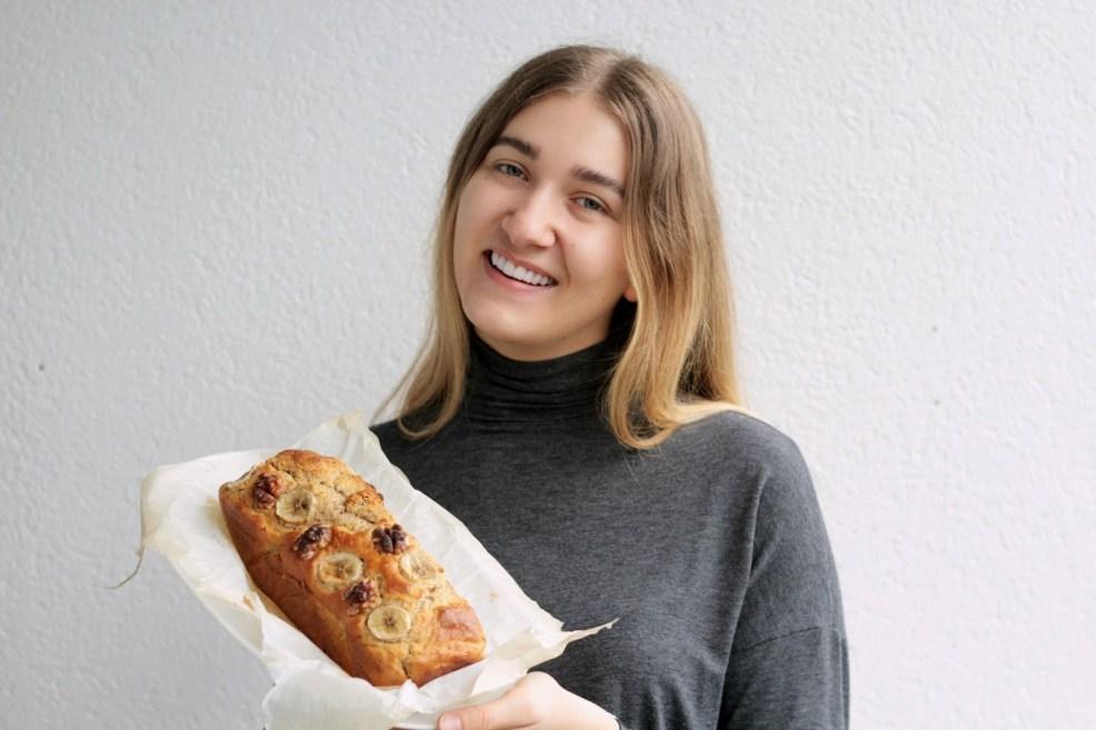 Veganes Bananenbrot, fett- und zuckerreduziert, köstlicher Snack Sophisticated sisters Food Lifestyle Blog Vienna
