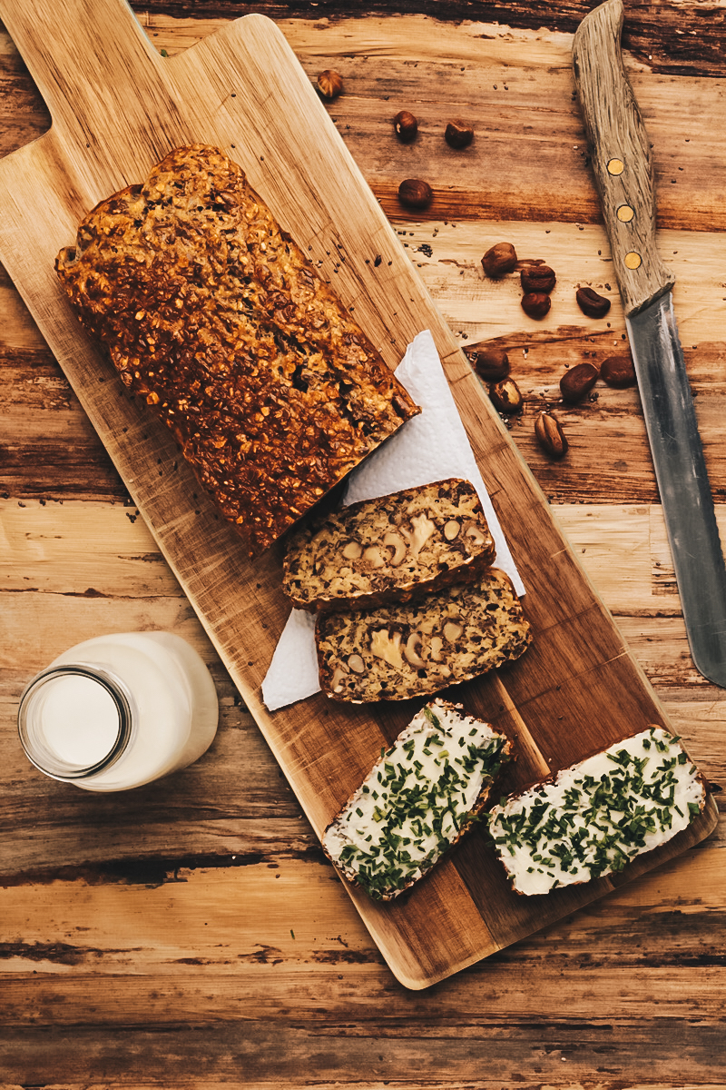 Superfood-Brot, vegan, glutenfrei