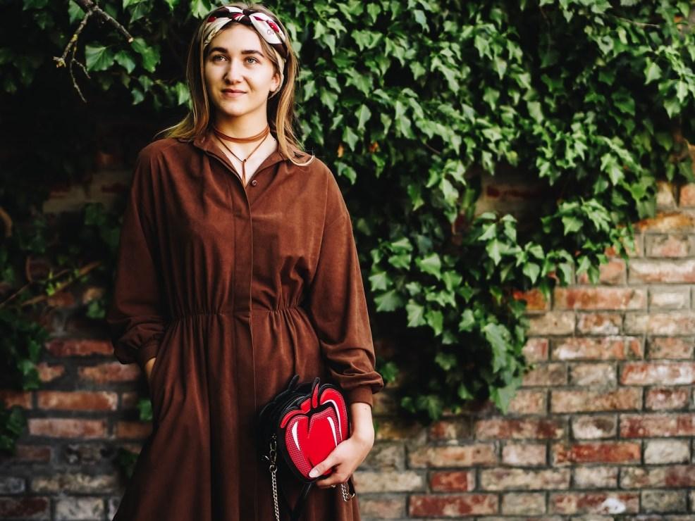How to: Vintage Kleid kombinieren