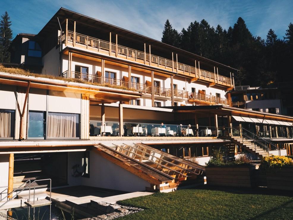 Sauna Dampfbad Spa-Bereich der daberer das Bio-Hotel in Kärnten