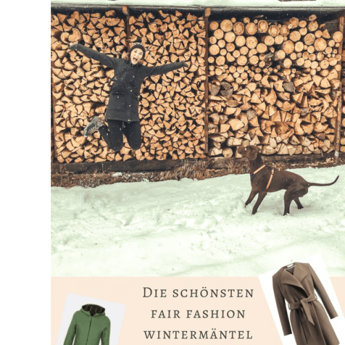 Die schönsten Fair Fashion Wintermäntel im Sale Unsere Top 5 Sophisticated Sisters Lifestyle Blog Vienna