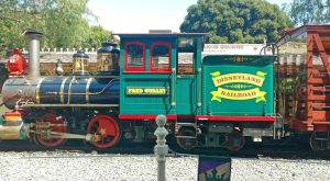 Early Days of the Disneyland Railroad