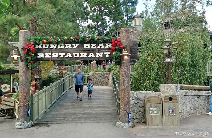 Hungry Bear Restaurant, Disneyland