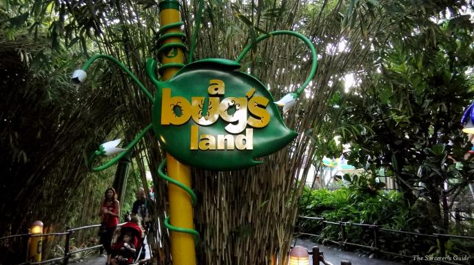 A bug's land sign