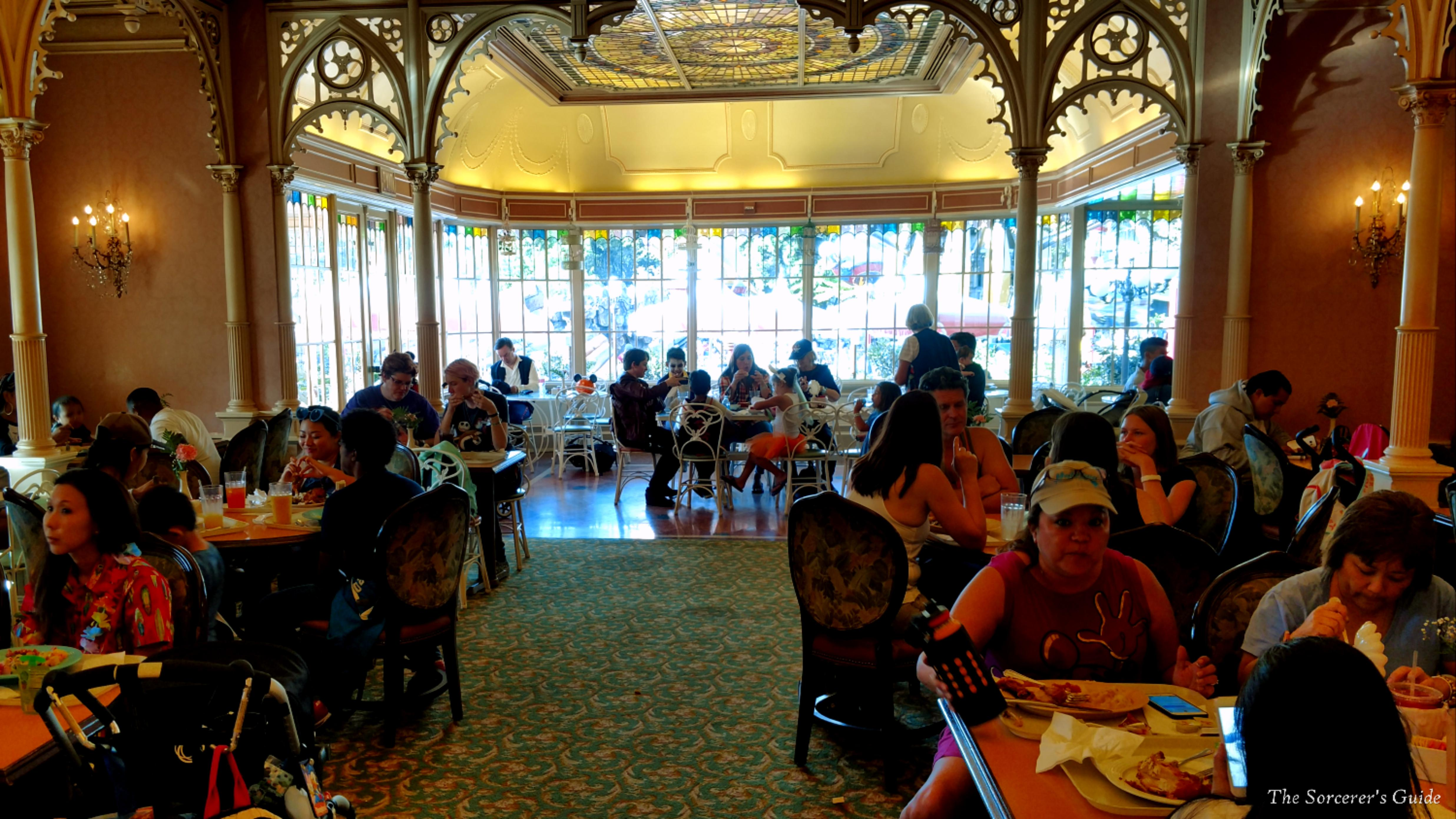 Indoor seating at Plaza Inn