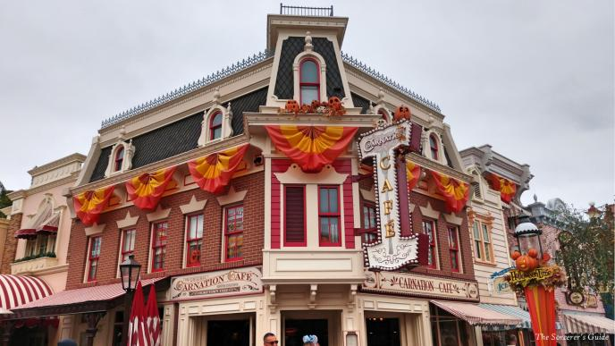Disneyland Resort, Disneyland, Main Street, USA, Carnation Cafe