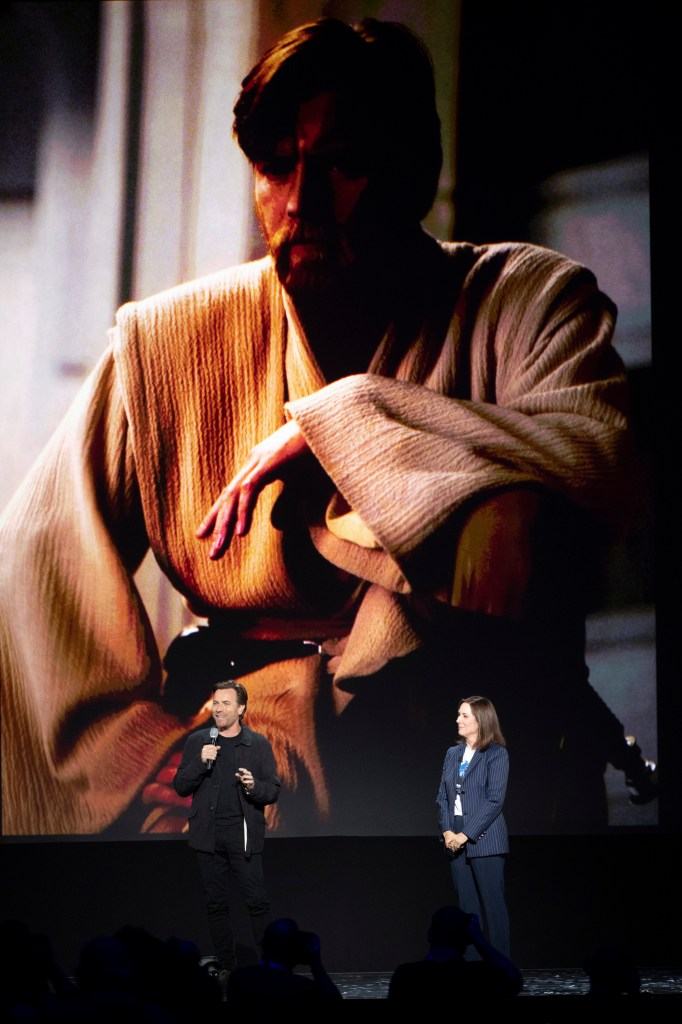 Ewan McGregor and Kathleen Kennedy introduce a new Obi-Wan Kenobi series for Disney+.
