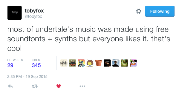 Why the Music to Undertale is Awesome! – The Sound Architect
