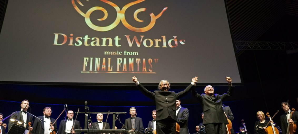 image of distant worlds in concert