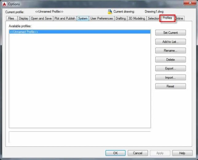 Migrate custom settings of AutoCAD