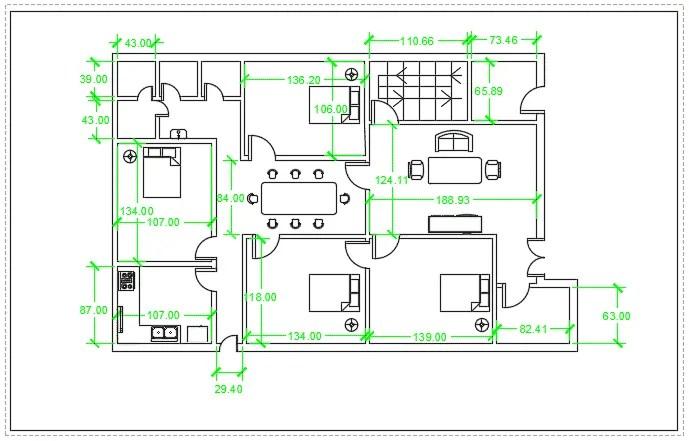100 Floor Plan Using Autocad The 25 Best Cafe Floor Plan