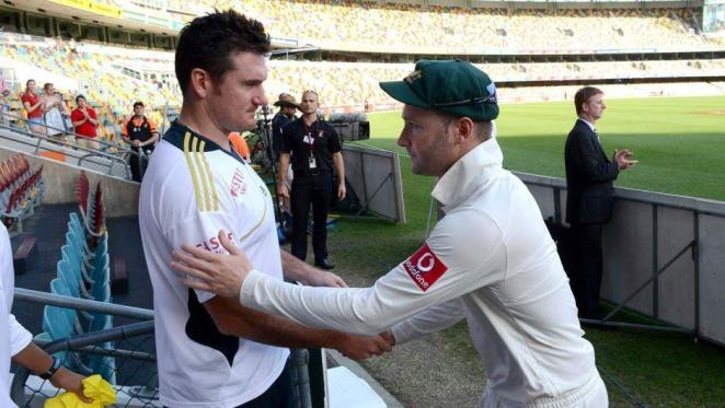 Michael Clarke even had more time for Graeme Smith than his own team-mate.