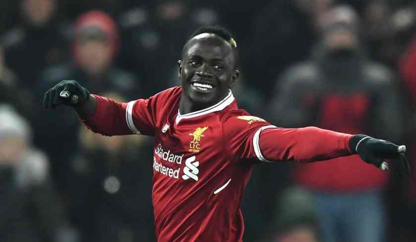 Sadio Mane Real Madrid vs Liverpool