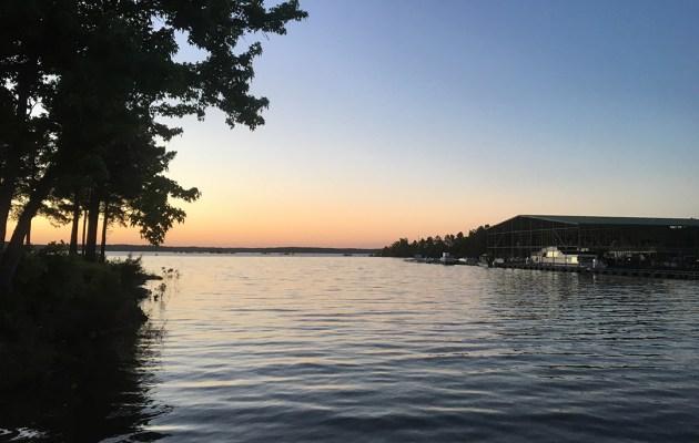 Sardis Lake near Oxford, Mississippi.