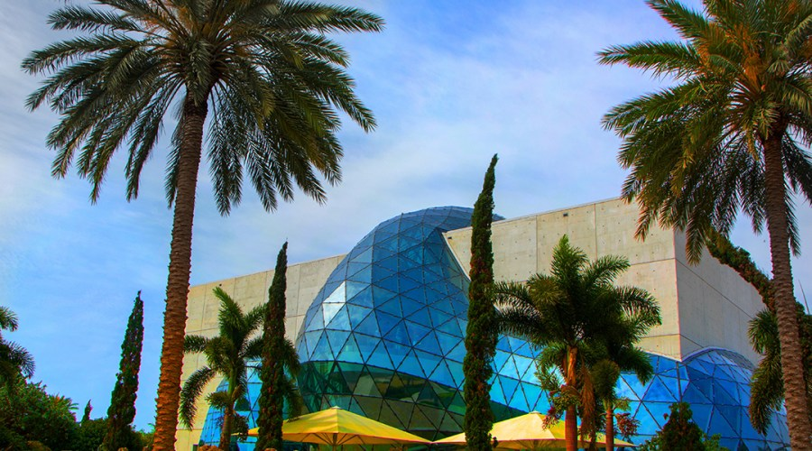 The Dali Museum in St. Petersburg, Florida.