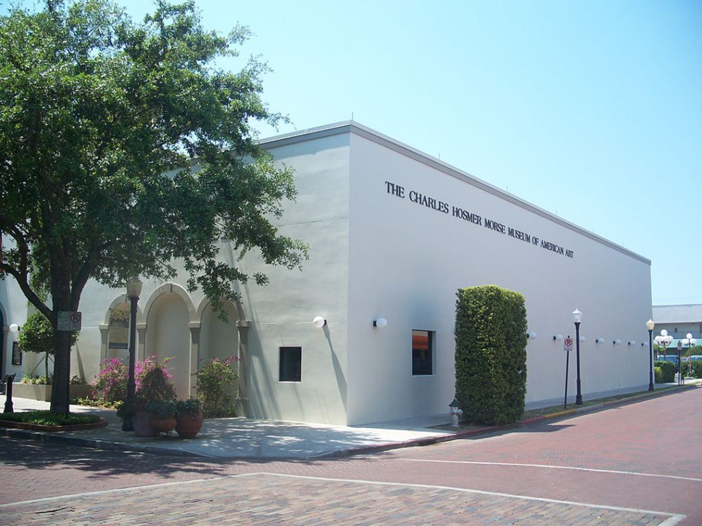 A museum in WInter Park, Florida.