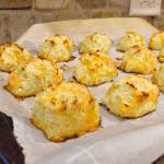 Cauliflower Cornbread Biscuits