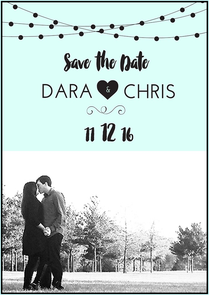 Make Save Date Cards Online