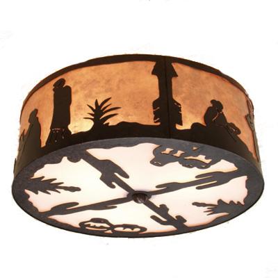customizable santa fe ceiling light