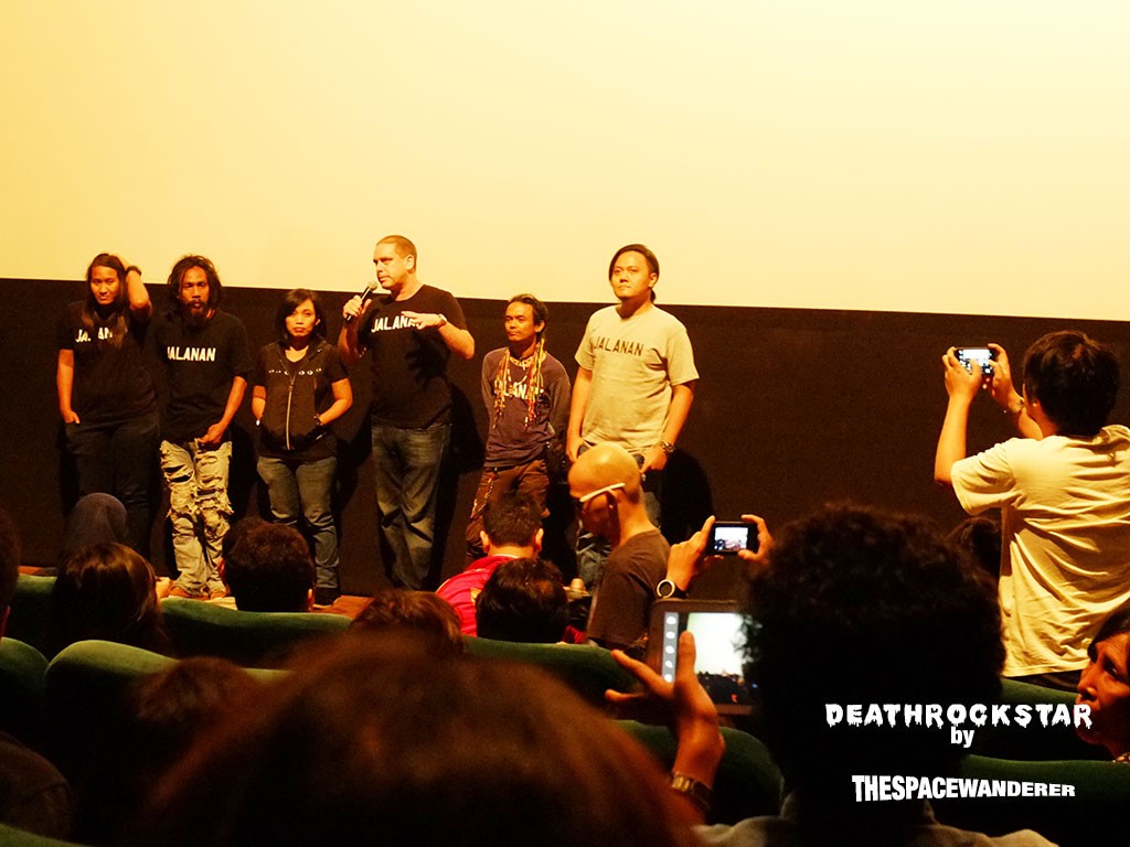The awesome people behind the movie