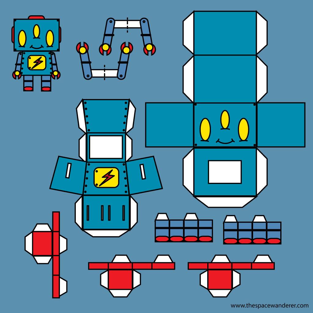 Robot Papertoys