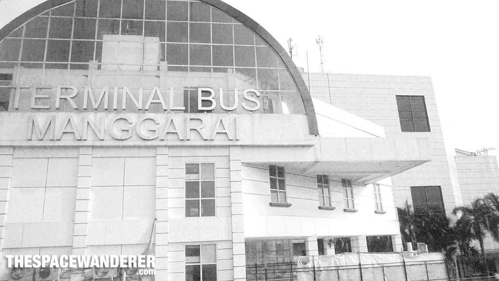 Terminal Bus Manggarai 2 Agustus 2014