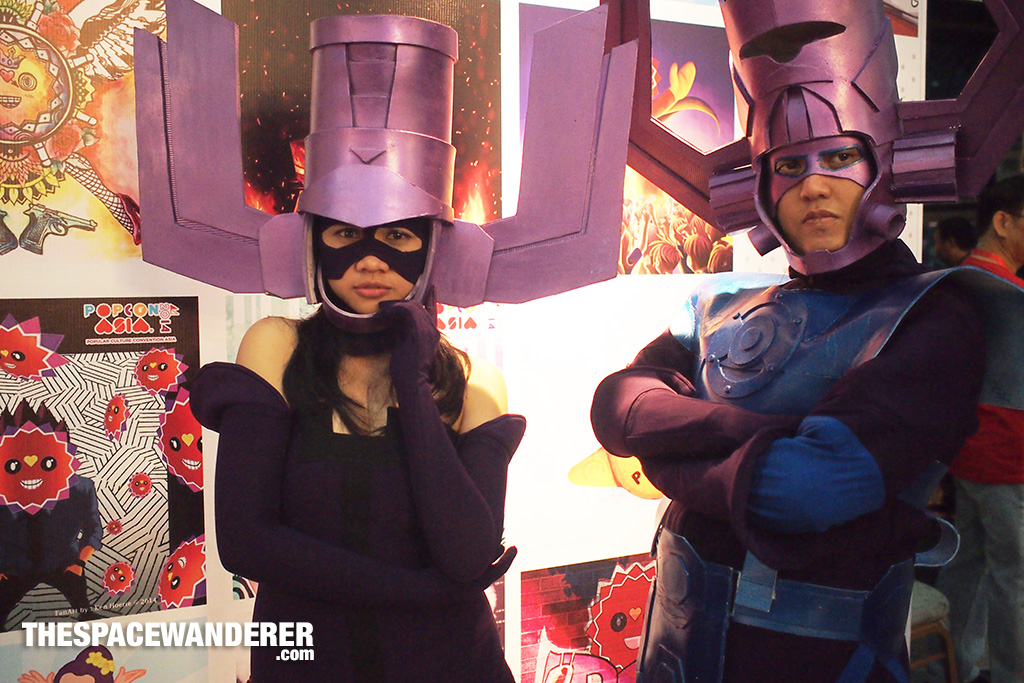 Galactus Couple Cosplay