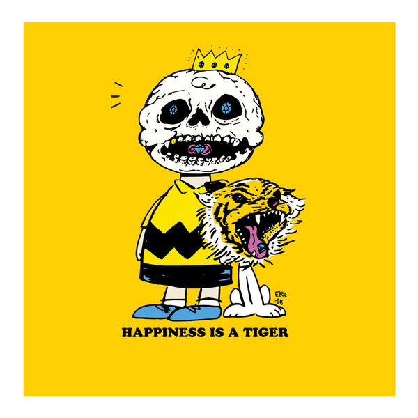 Happiness Is A Tiger http://society6.com/ericwirjanata/happiness-is-a-tiger_print