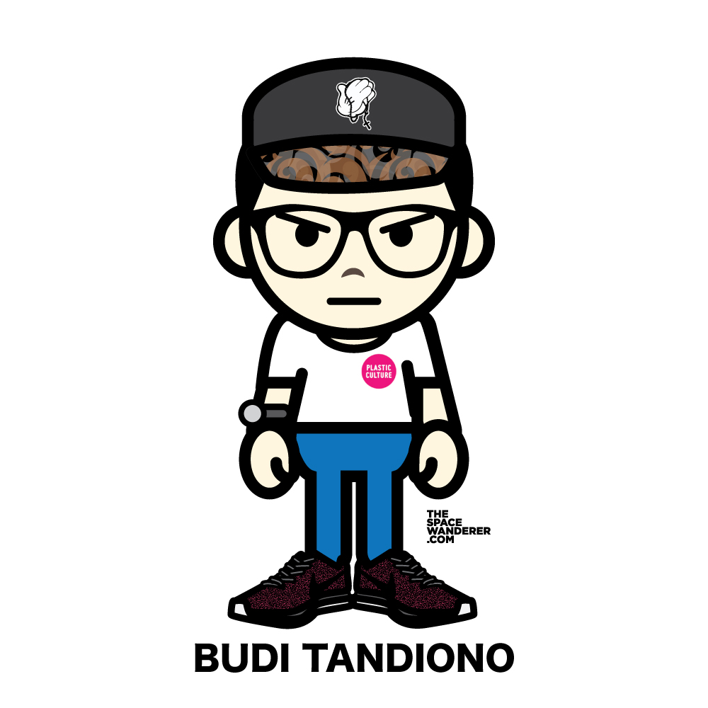 Budi Tandiono One of the owner of Plastic Culture, the Indonesian designer toys store. Husband to Dewi Sastra and father to two adorable sons.