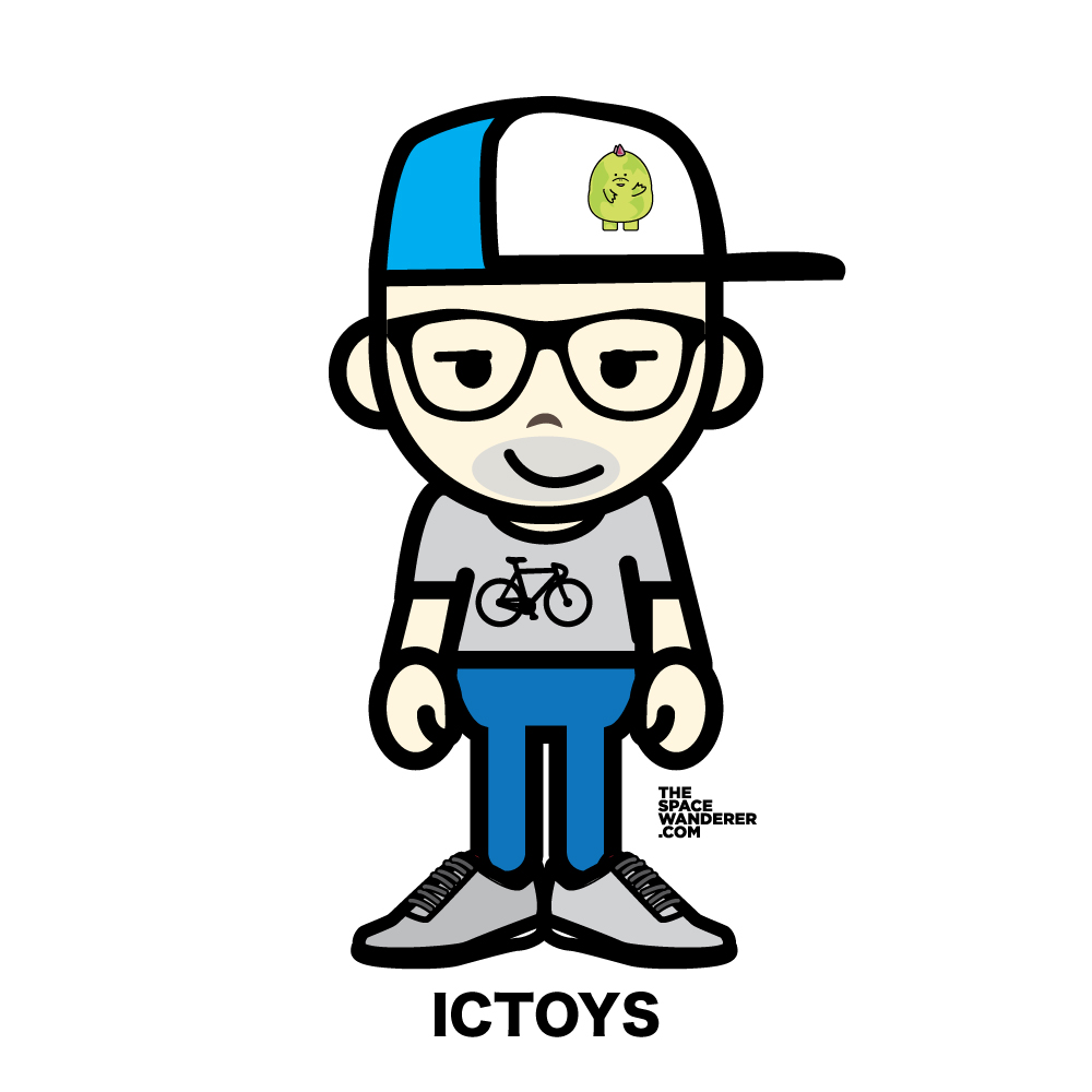 Indra Gunawan (ICTOYS) Creator of Gacha, the adorable dinosaur or cute kaiju. His drawing are so neat and currently pursuing his dream as a watercolor painter.