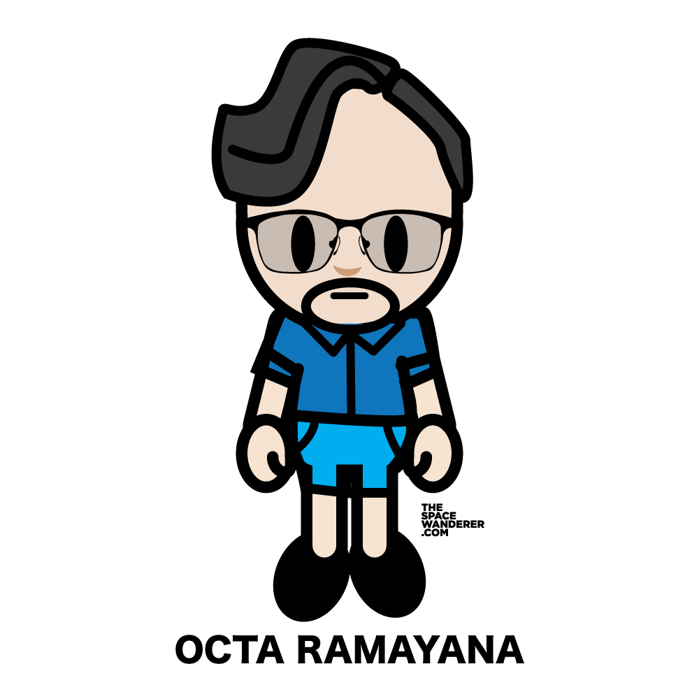 Octa Ramayana A startup co-founder, a man with great wisdom. His calm are beyond many people.