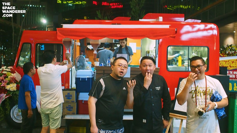 Pengunjung Burgers Trader