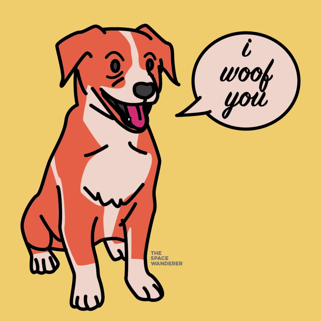 mutt illustration