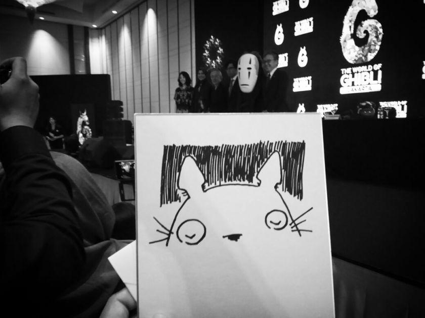 Totoro original sketch