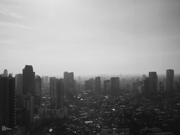 Jakarta City Skyline as seen from Westin Hotel, Gama Building