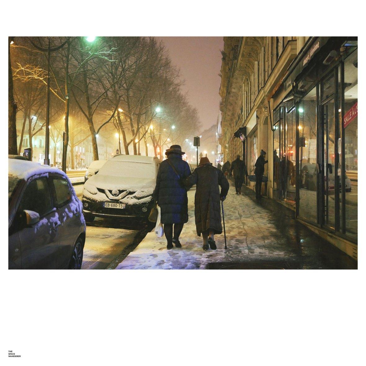 Snow in Paris 2018