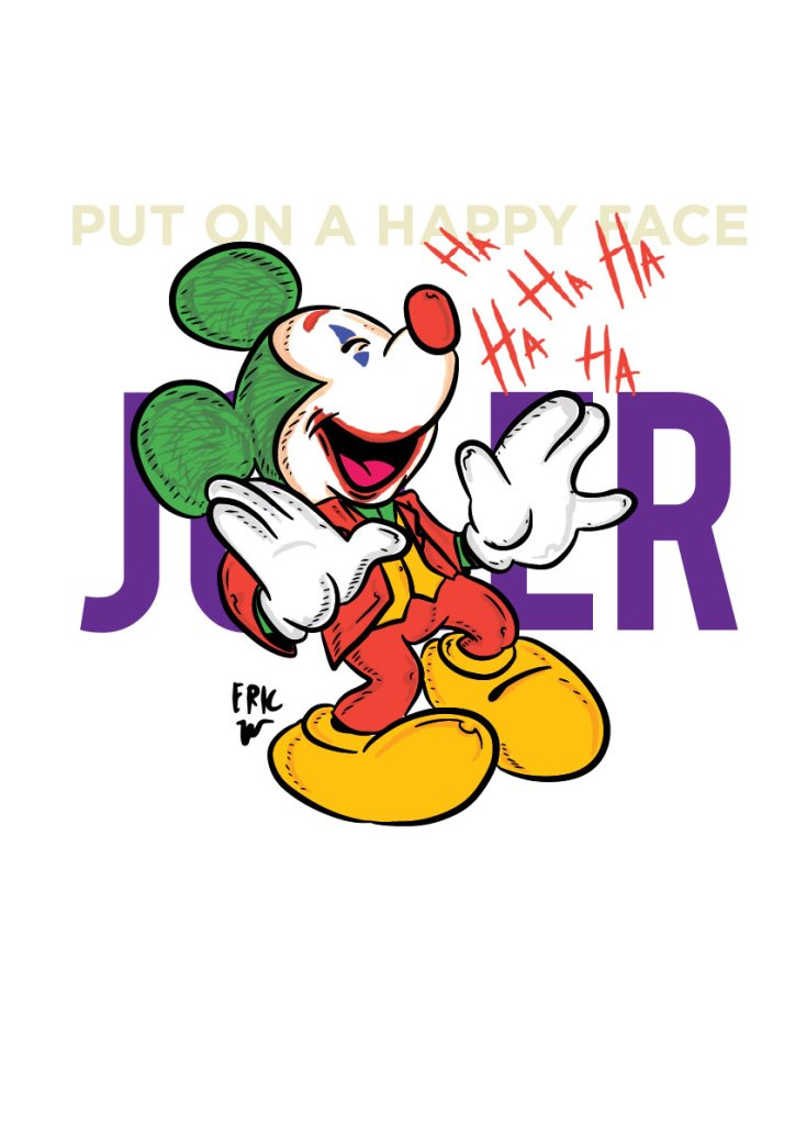 joker mickey mouse