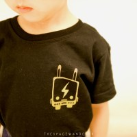 The Space Wanderer T-Shirt for Kids