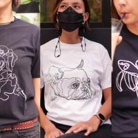 One Line Art T-Shirt Series 1
