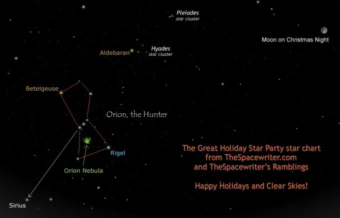 The Great Star Party star chart (click to embiggen).  Oriented for northern hemisphere users, although southerners can use it, too.