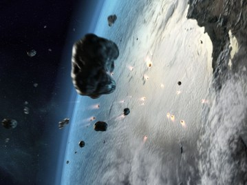 An asteroid the size of Manhattan may have contributed greatly to the death of the dinosaurs some 65 million years ago. Is that the biggest explosion in the cosmos?