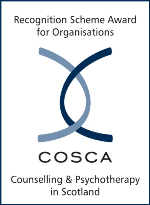 COSCA Counselling and Psychotherapy Scotland logo