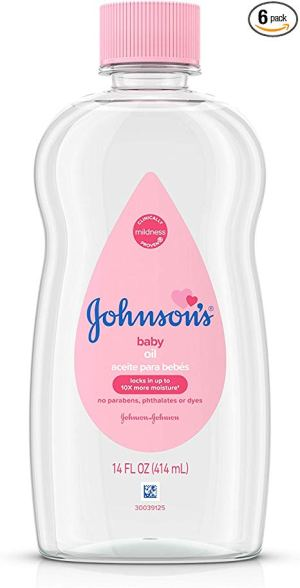 Baby Oil for Nail Drying