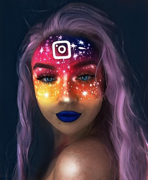 Out of this world halloween makeup ideas