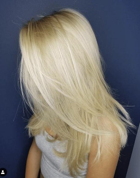 Blonde Layered Hair