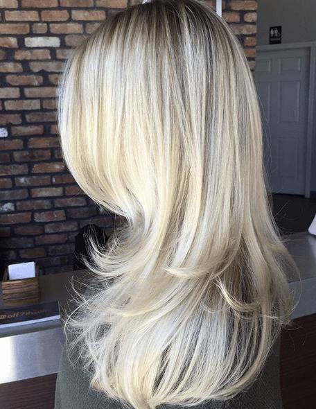 Blond Layered Hairstyles