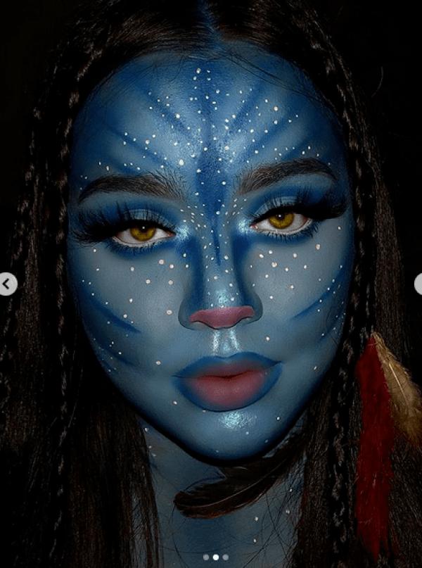 Avatar Halloween Makeup