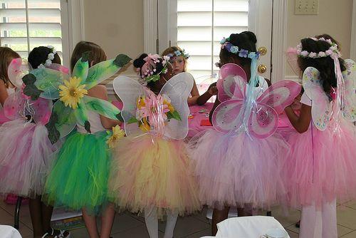 Fairy themed birthday party