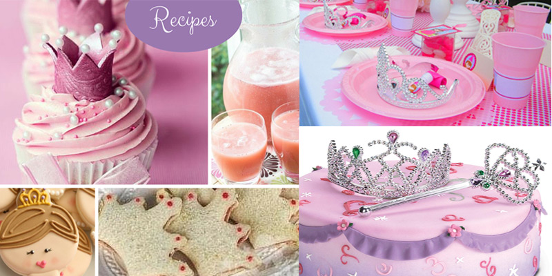 Ideas for food at a Princess birthday party
