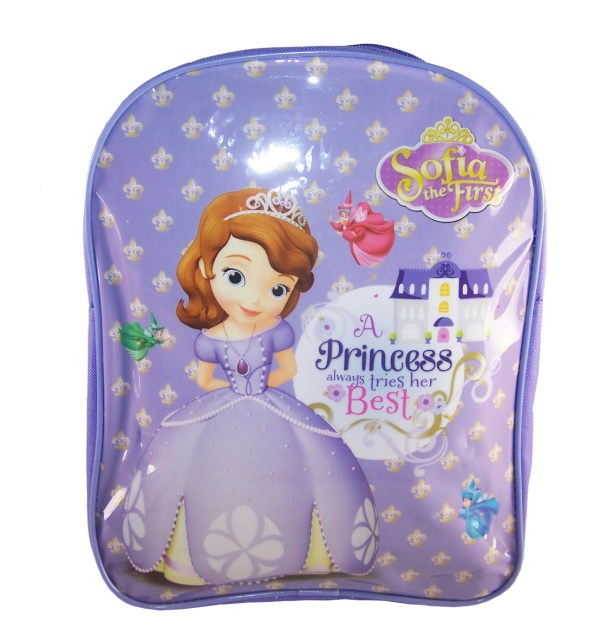 Disney Princess Sofia lilac backpack-0